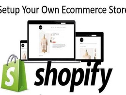 Setup 10k dollars per month shopify store or shopify website