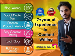 ⭐ Content Writing Original & Authentic 500 Words SEO Articles ⭐