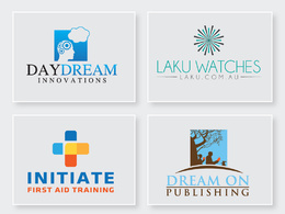 Design 4 modern business logos + complete source files in 24 hrs