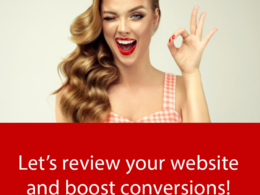 Review your website and suggest changes to increase conversions