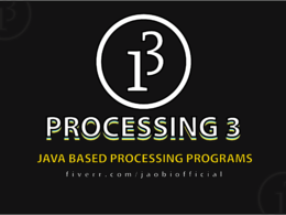 Create or help with java based processing sketch or code