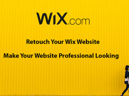 Retouch or fix your Wix website for 2 hours