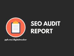 SEO Audit Report For Google Ranking