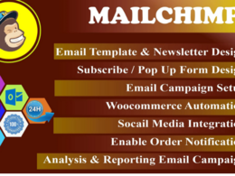 Create a unique responsive Email Template / Mailchimp