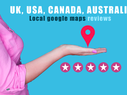 Do 15 UK/US Google Local Guide SEO Raking Maps Comment Directory