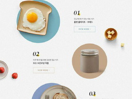 Design modern food menu
