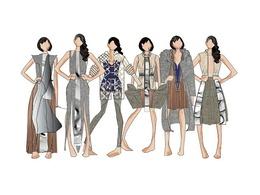 The Fashion Studio's header