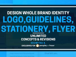 Design Professional Logo ,Business Stationery , Website Favicon