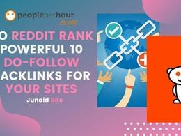 Do Reddit Rank Powerful 10 Do-Follow Backlinks For Your sites