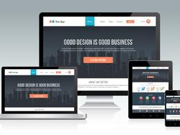 Design clean responsive WordPress website