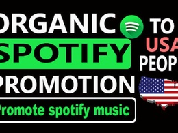 Promote your spotify track for viral and boost ranking