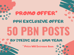 50 PBN Backlinks ⭐ Rank Booster SEO Package ⭐