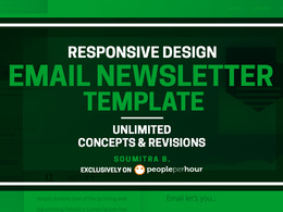 Design responsive email newsletter template
