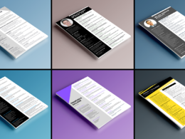 Design you a stunning CV in 48 hours