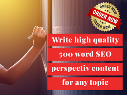 Write SEO friendly content for your blog or website