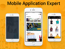 Develop Android, iPhone Native and Hybrid Mobile App.