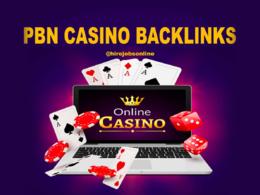 Provide 5 Poker, Gambling, Online Casino PNB Backlinks