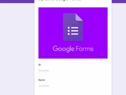 Work on google sheets and google forms