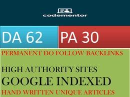Write and Publish Guest Post On Design Blog Codementor.io DA62