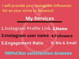 Find the best instagram influencer for your business or brand