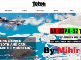 Premium Guest Posting Service On My Sport Blog Tetongravity. com