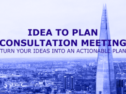 Do a 1-hour consultation to turn your idea into a plan