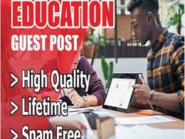 Provide High Authority Edu Site Guest Post on DA 89