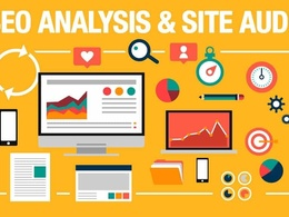 Do SEO Audit of your Website and Competitor Analysis