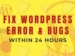 Fix WordPress issues and errors