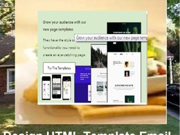Design Attractive 5 HTML Template for your business