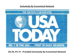 Guest Post on USA TODAY (Usatoday.com) DA 94, DoFollow