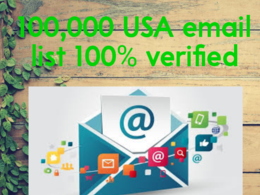 Collect 100,000  emails of USA  consumer