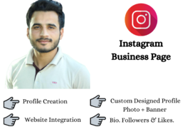 Set up your instagram business page