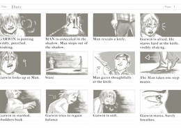 Create a storyboard for your short video