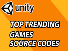 Sell top trending unity 3d, 2d game codes