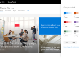 Design and develop office 365 Sharepoint intranet site