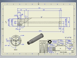 Create 2d drawing and engineering drawing