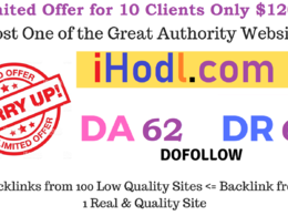 Publish Crypto Guest Post on iHodl, iHodl.com (DA 62, PA 55)