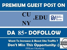 Guest Post on City University of New York cuny edu cuny.edu DA85