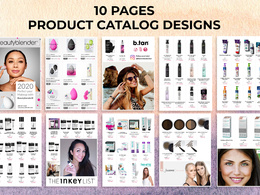 Design Product Catalog 10 pages