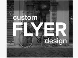 Design a flyer or brochure for you