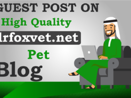 Post your content on Pet Blog - drfoxvet.net (DA 25+ , PA 20+)