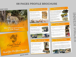 Do Profile Brochure Design 6 pages