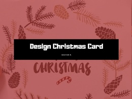 Design Christmas Card or Flyer
