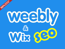 Do best Weebly, Wix SEO for your website