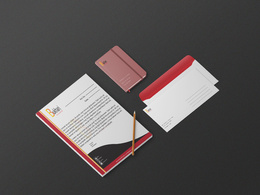 Design two unique letterheads and envelopes with Free Revisions