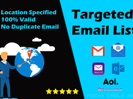 Give valid targeted niche email marketing list