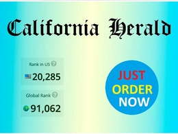 Do guest post on californiaherald.com with dofollow link