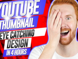 Create youtube thumbnail in 4 hours