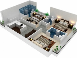 28X45   1260 sq ft   2 Story House Plan   Khyban-E- Ameen Karach